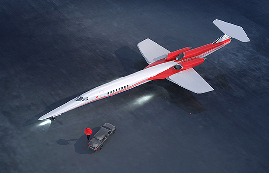 (Aerion Supersonic的AS2渲染图  图源:Aerion)