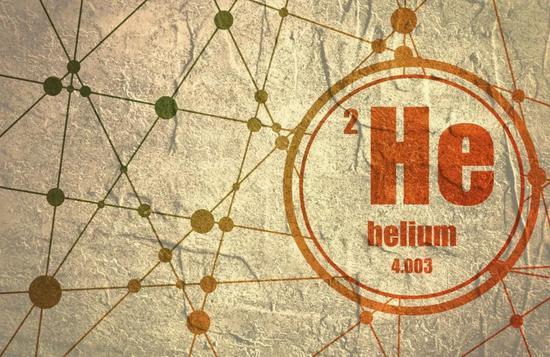 元素周期表排名第二的元素——氦He (来源:视觉中国)
