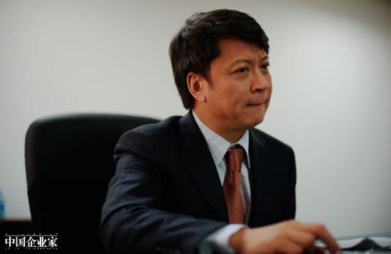 融创中国董事会主席孙宏斌。摄影:史小兵