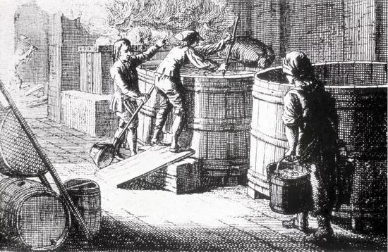 中世纪德国的啤酒制造厂