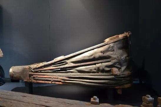 歐洲楔形皮囊(德國魯爾博物館藏,潛偉 攝)