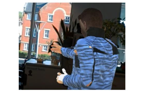 ▲通过VROOM,远程工作者能与在场者进行专注的互动