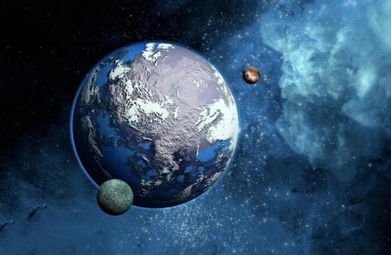 """引力微透镜技术发现罕见""""超级地"""