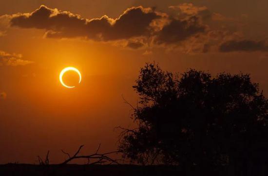 今天将有日食发生,我国部分地区可见!