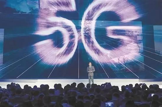 華爲技術有限公司輪值CEO徐直軍介紹華爲3GPP 5G科技成果