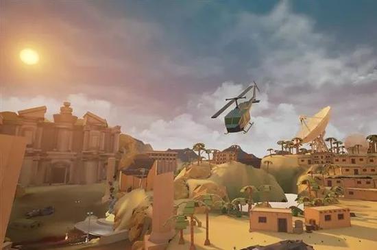VR游戏《弹尽粮绝》