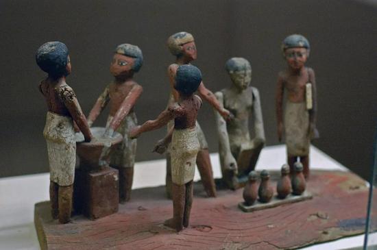 古埃及文化中啤酒也是重要的元素