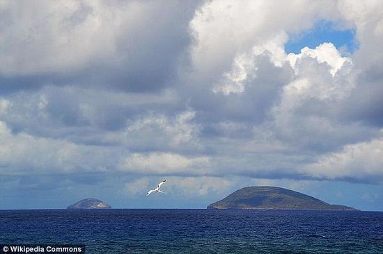 麦克马洪声称,残骸位于印度洋西南部毛里求斯圆岛(图来自英国《每日邮报》)