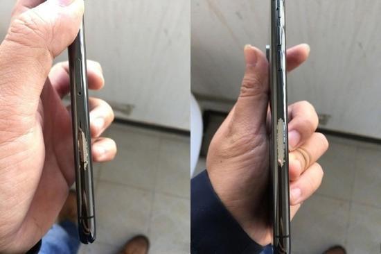深空灰色iPhoneX边框存在掉期现象