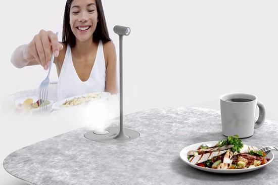 异地恋也可以面对面的吃饭聊天 这款摄像头做到了