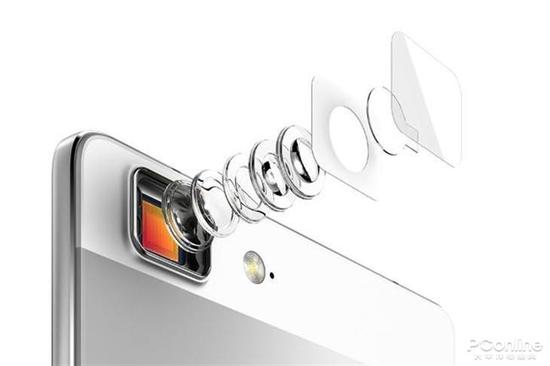 OPPO R5上施耐德认证的镜头