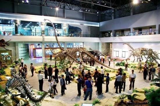 自貢恐龍博物館,出處:自貢世界地址公園官網