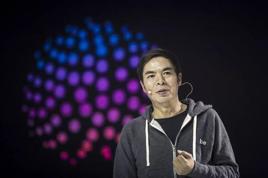 张小龙在演讲中。@视觉中国