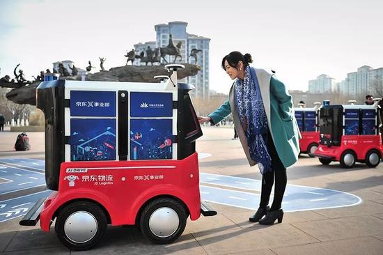 物流业对于无人技术的应用,尚难完全抵消业务增长。图/视觉中国