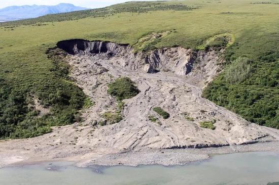 消融中的永久冻土,来源:NPS Climate Change Response on Visual Hunt