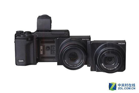 相机模块化中最重要的机型,应该是理光GXR,GXR的镜头与传感器构成一个模块