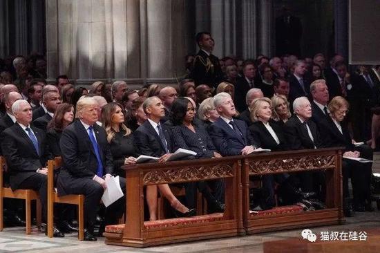 父亲葬礼上 小布什还惦记着给奥巴马夫人塞糖? 股票配资