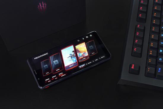 ▲红魔Mars电竞手机