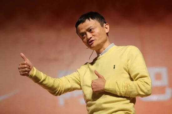 阿里巴?#22270;?#22242;创始人马云。图片来源:视觉中国