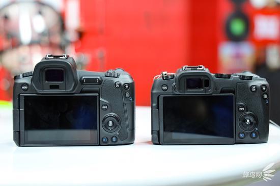 相机背面对比