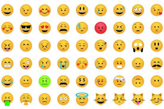 ▲ 这么多 emoji,你跟你妈的解读可能都完全不一样