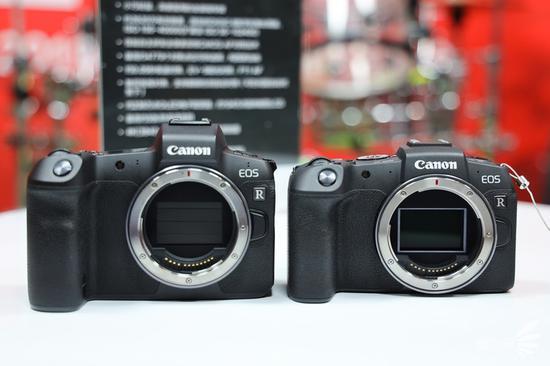 相机正面对比