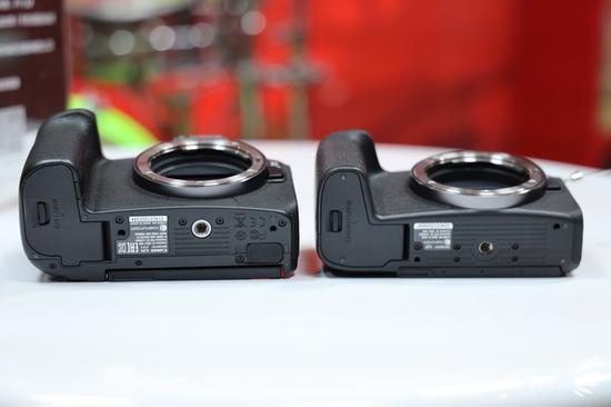 相机底部对比