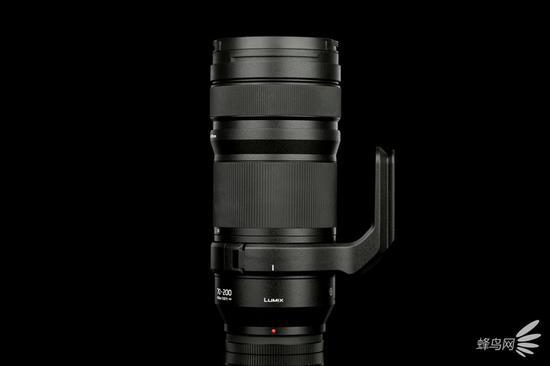 松下LUMIX S PRO 70-200mm f/4 O.I.S镜头右侧面