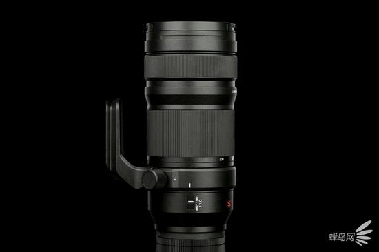 松下LUMIX S PRO 70-200mm f/4 O.I.S镜头左侧面