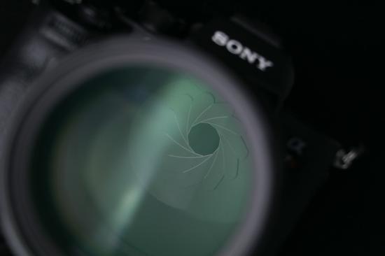 索尼FE 135mm F1.8 GM光圈