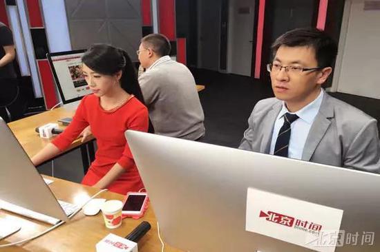 """北京时间记者在双十一报道的""""编辑部""""里"""