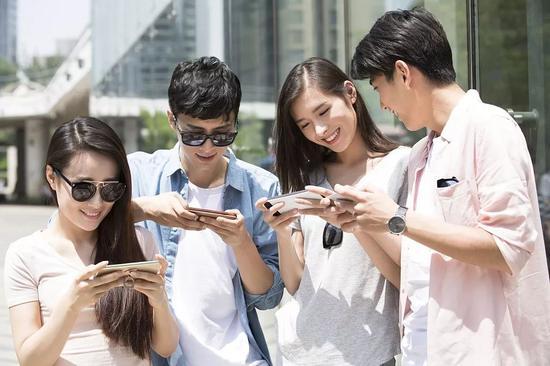 中国拥有庞大的游戏玩家。图片来源:视觉中国
