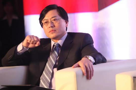 ▲联想现任总裁杨元庆(图/图虫创意)