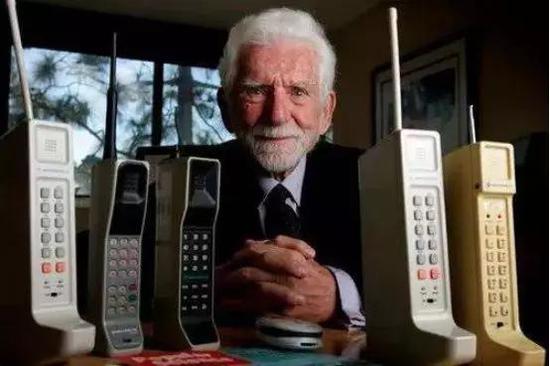 马丁・库珀和摩托罗拉移动电话