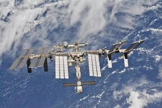 国际空间站(图片来源:NASA)