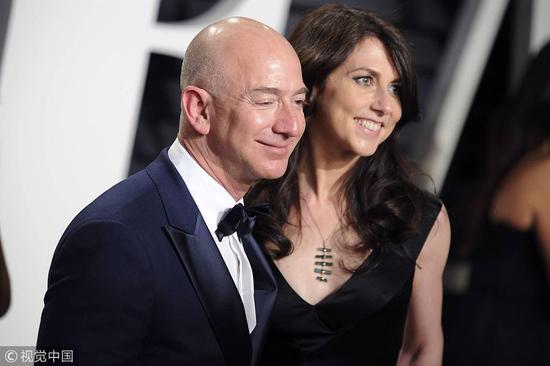 与前妻完成财产分割 贝索斯减持18亿美元亚马逊股票
