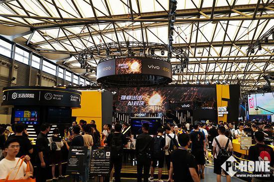 iQOO Pro 5G版公开展示 vivo亮相CJ2019