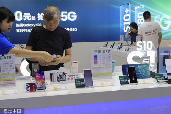 首部5G手机售出背后:营销战硝烟正浓 厂商掐点拼第一