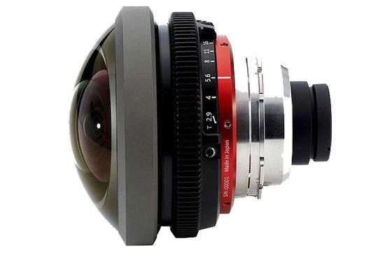 Entaniya宣布推出用于Super 35 PL卡口鱼眼镜头
