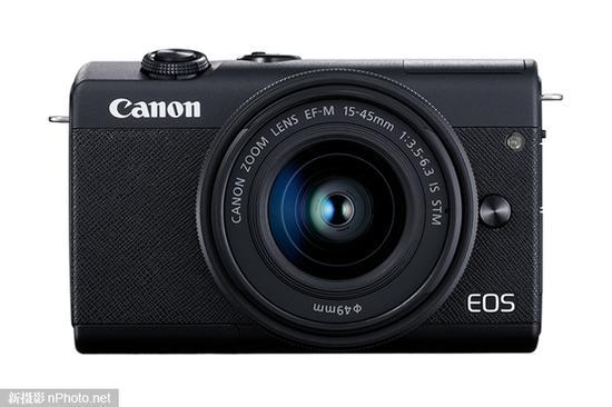 佳能发布eos m200入门级无反相机