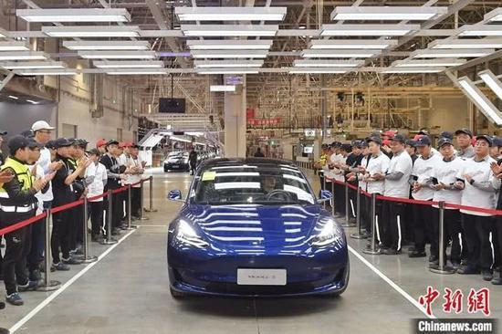 特斯拉:首批国产Model3将于1月7日对外交付社会车主