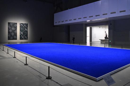 ▲ 去年上海当代艺术博物馆举办过伊夫·克莱因的展览。