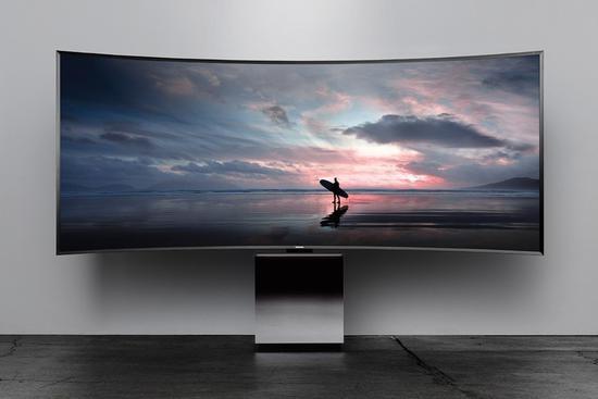 电视机屏幕越大底座越小 三星却加速逆行