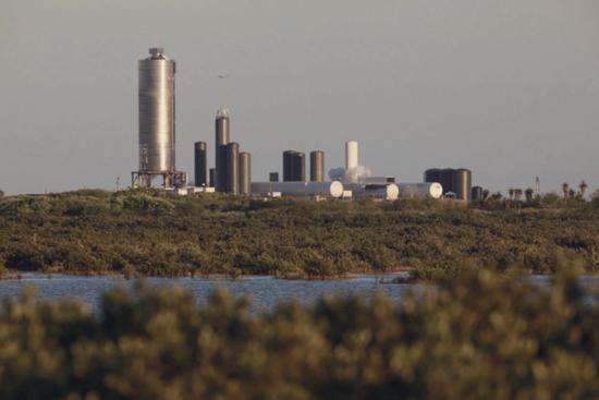 图 | SN5 发射前