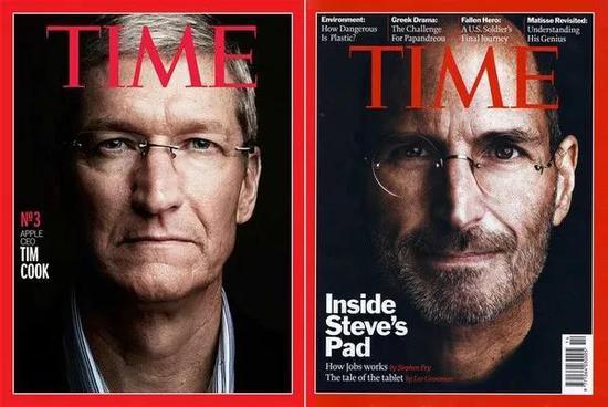 1997 年,苹果亏损 10 亿美金;1998 年,库克入职当年,苹果盈利 3 亿美金。