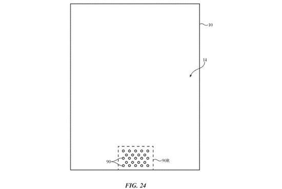 """专利显示未来iPhone可能会拿掉屏幕上的""""刘海"""""""