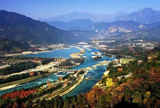 中国最出名的水利工程 都江堰