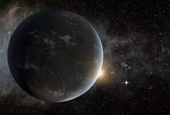 超级地球艺术概念图。超级地球是搜寻外星人的理想所在