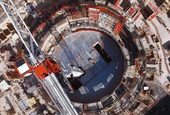 建造中的ITER