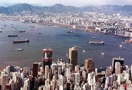 港岛俯瞰,香港,1986年